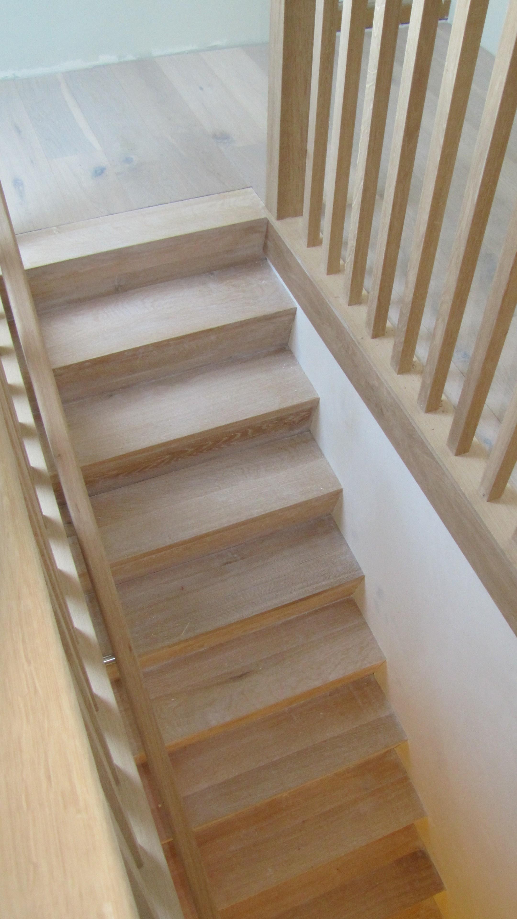 Z trap eiken dicht beijes trappen bouw for Trap eiken