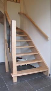 houten trap budel